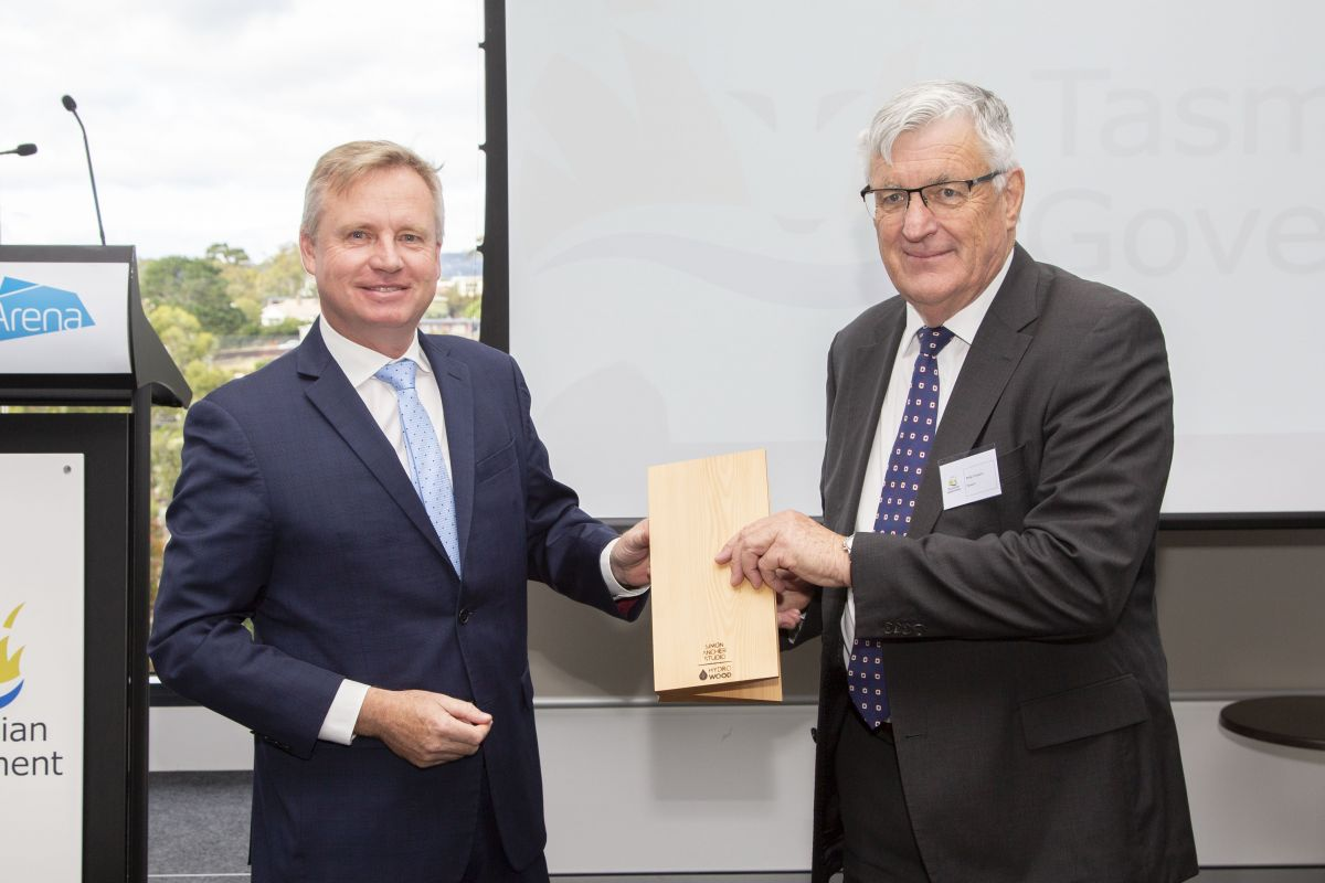 Novaris award presentation with Minister Rockiff