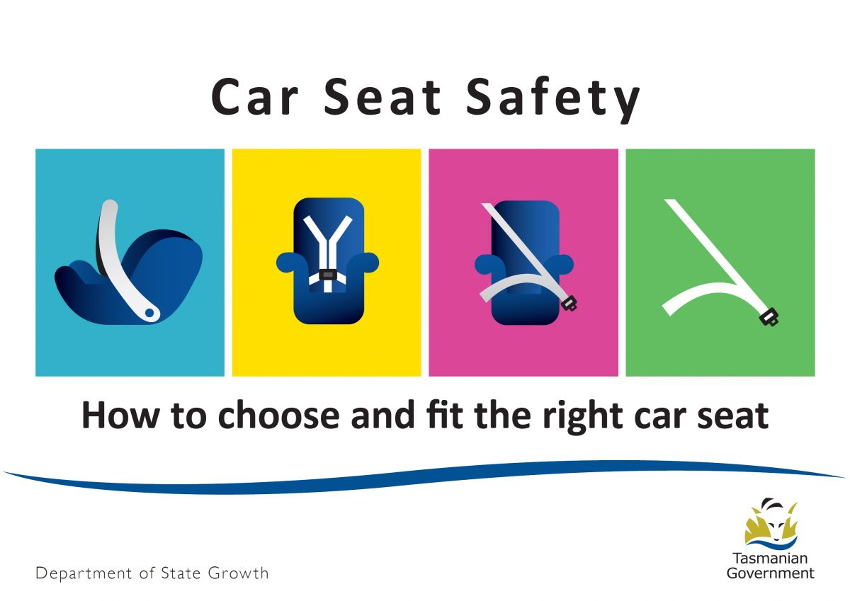 Cover - Car Seat Safety Booklet graphic